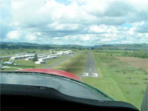 Final Approach for Runway 33